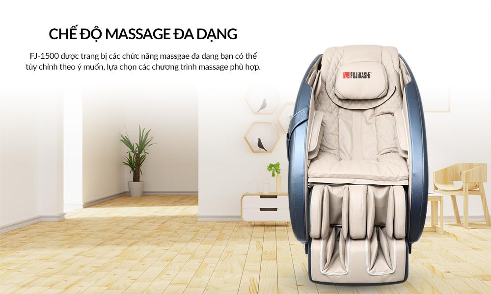 Những chương trình massage đa dạng nhất