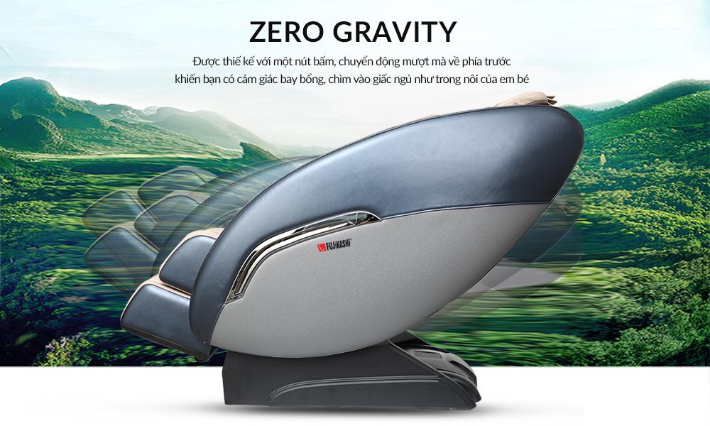 Chương trình massage không trọng lực Zero Gravity
