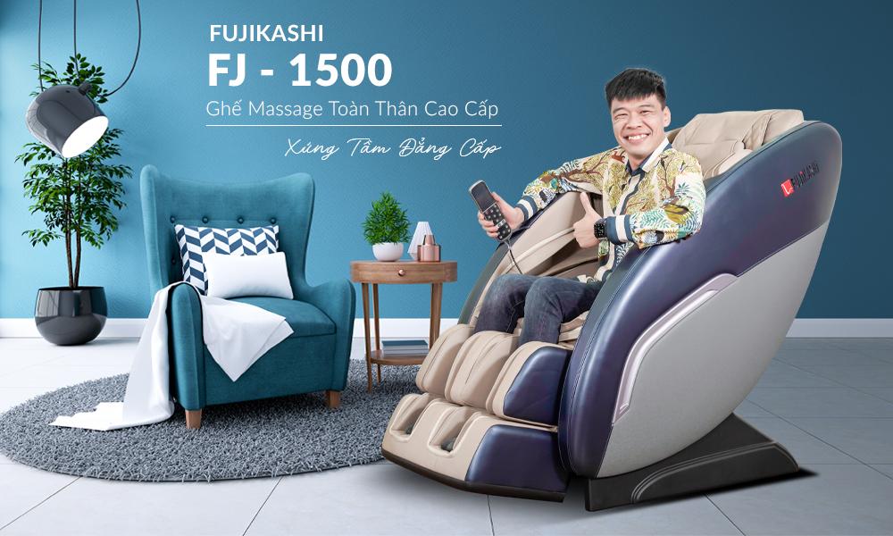 Ghế massage toàn thân Fujikashi FJ-1500