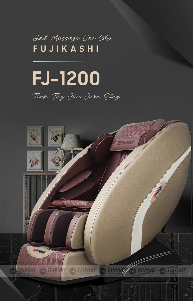 FJ-1200 - mẫu ghế massage tại nhà đang rất được ưa chuộng hiện nay.
